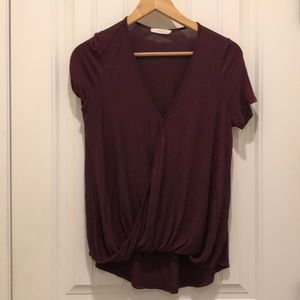 Lush gathered blouse.